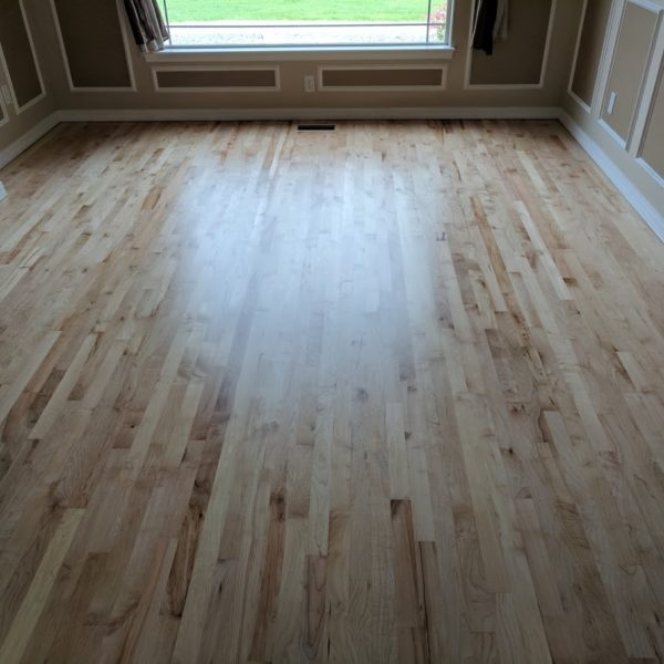 Nampa Farm House Hardwood Floor Refinish
